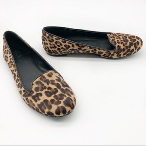Cole Haan Animal Leopard Print Ballet Loafer Flats